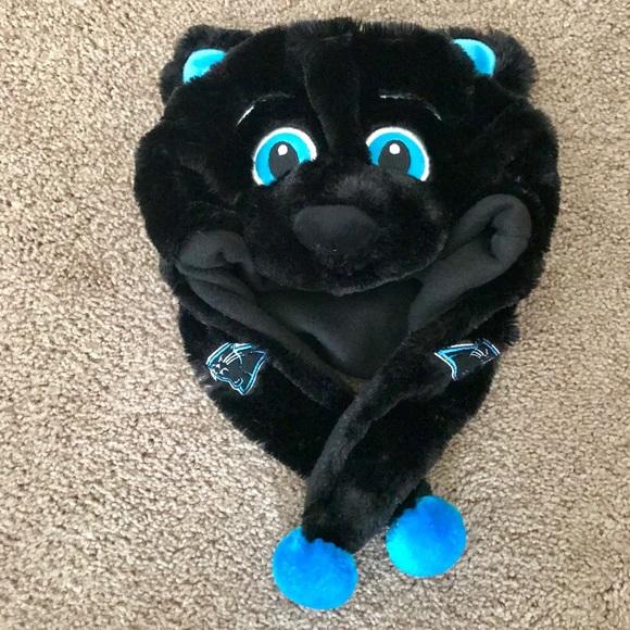 """3b1f6782 🏈Fun hat """"Carolina Panthers"""" kids hat. OS"""
